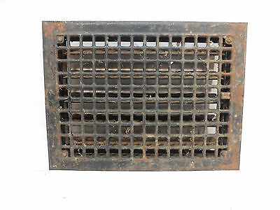 Antique Craftsman Style Heating Vent / Grate - Circa 1910 Architectural Salvage