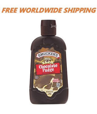 Smucker's Magic Shell Chocolate Fudge Squeeze Bottle 7.25 Oz WORLD SHIPPING