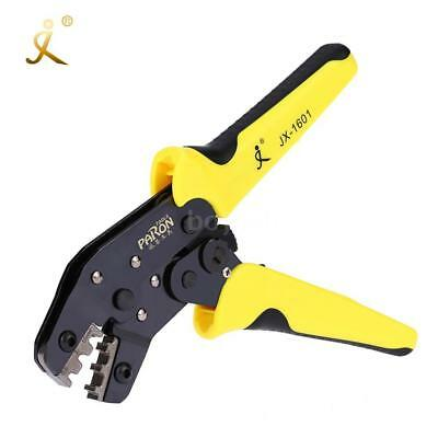 HCS Ratchet Terminal Wire Crimper Crimping Pliers Tool 3.96-6.3mm 26-16AWG