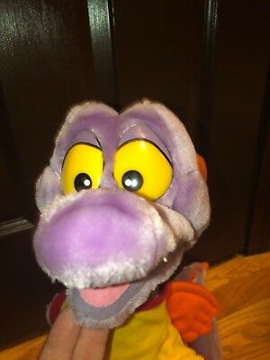 "Vintage Disney World Figment Plush 1982 19"" Epcot Stuffed Animal Park"