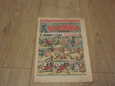 THE DANDY COMIC- No 300 - Sept 1st 1945 -  Very Good condition- Beano