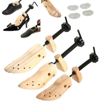 Unisex Women Men Wooden Adjustable 2-way Shoe Stretcher Shaper Expander US(5-10)
