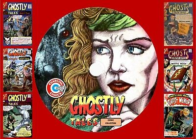 Ghostly Tales & Other Charlton Ghost Comics On DVD Rom