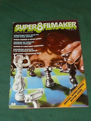 SUPER 8 FILMAKER 1978 Magazine 70s Retro 8mm Movie Director Tips Special Effects