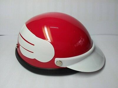 Helmet Hat Cap Dog Cat Costume Accessory Pet Supplies Safety Bird Wing Red