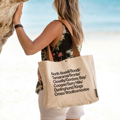 NEW Sydney Eastern Suburbs & Beaches Wine Tote Bag by Vinotopia Wine Giftwares