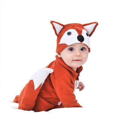 NEW Lil' fox baby and toddler costume with hat by Lil' Creatures