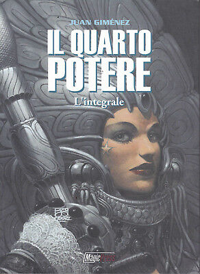 IL QUARTO POTERE - L'INTEGRALE (Gimenez) SCONTO 20% - ed. Magic Press