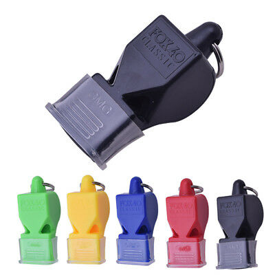 Plastic FOX 40 Soccer Basketball Sports Classic Referee Whistle Survival Outdoor