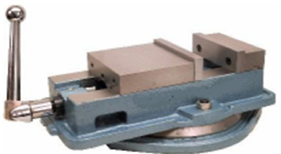 """Precision Milling Machine Vice 5"""" with swing base"""