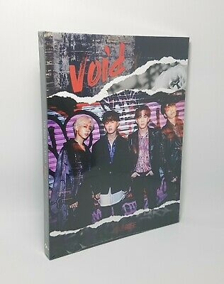 K-POP The Rose 1st Mini Album - [void] CD + Photobook + Photocard Sealed