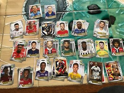 lot de 10 IMAGES PANINI FOOT 2017-2018 a choisir parmi plus de 100 images
