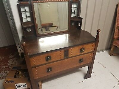 Arts And Crafts dressing table DON'T BE AFRAID TO MAKE AN OFFER