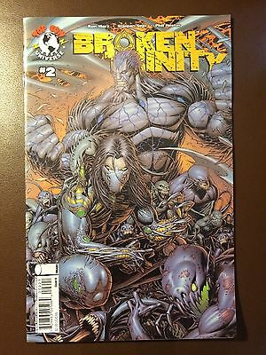 Image Top Cow comics :  BROKEN TRINITY  # 2 , cover B , Witchblade, Darkness