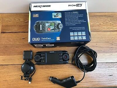 NextBase In-Car Twin Cam  12v-24v DC Compatible Comes With SB Card Included 32gb