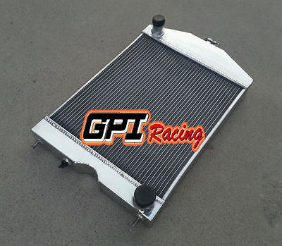 aluminum radiator for Ford 2N/8N/9N tractor w/chevy 350 V8 engine 56mm