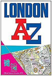 London 2012 Street Atlas (A-Z Street Atlas), Geographers A-Z Map Company, Used;