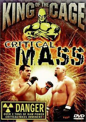 King of the Cage: Critical Mass [DVD] [2001] [Region 1] [US Import] [NTSC], Good