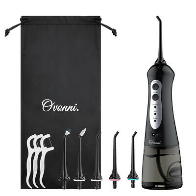 Ovonni Oral Irrigator Water Flosser Cordless USB Dental Care 3Modes Recharge