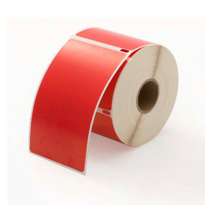 1 Roll of 300 RED Shipping Labels For DYMO® LabelWriters® 30256