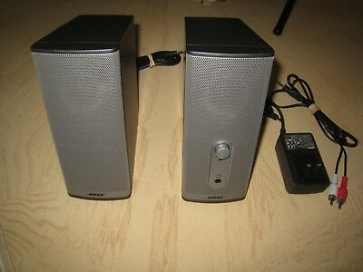 Bose Companion 2 Series II, Multimedia Computer PC Speakers System, Works Great!
