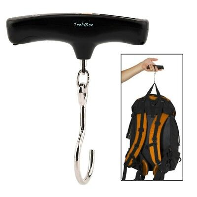 Electronic Luggage Scale Portable Hook LCD Digital Hanging Weight 110lb./50kg