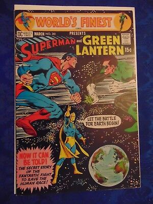 WORLD'S FINEST # 201 March 1971 also included WORLD'S FINEST #204