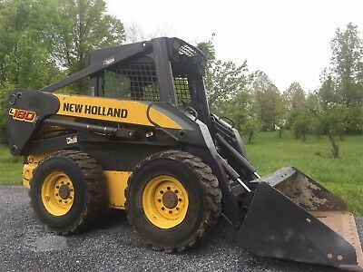 New Holland L180 L185 L190 C185 C190 Skid Steer Loader Official Service Manual
