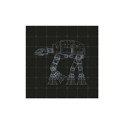 NEW IXXI Star Wars galaxy reversible wall art by Until