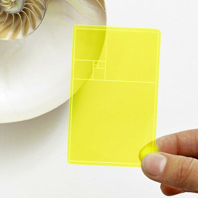 NEW Areaware golden section finder by Until