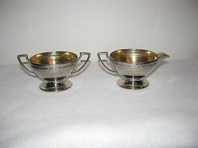 Antique Sugar and Creamer Set Early 1900's