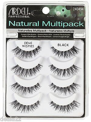 6c95f8300a7 8 Pair 61494 Ardell Multipack Demi Wispies Fake Eyelashes Natural Eyelashes