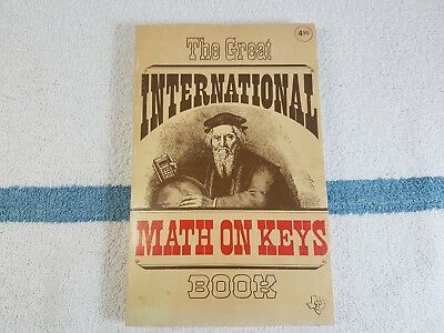 Texas Instruments The Great International math on keys book 1976 calculator