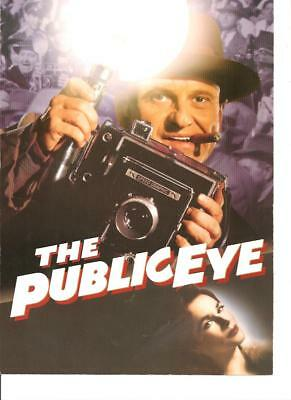 Public Eye 1992 Vintage Orig Color Still Photo Camera Cigar Hat Crime Joe Pesci