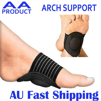 Foot Arch Support Cushion Sock Sleeve Pain Relief for Flat Feet Fallen Arch