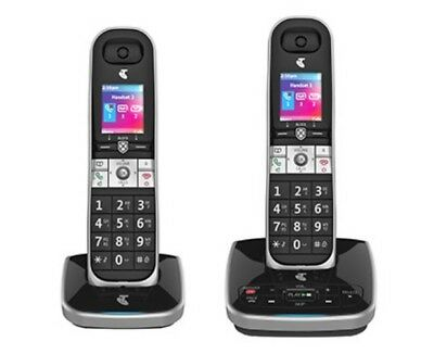 Telstra Call Guardian 301 Mkii Cordless Home Phone - 2 Twin Handsets
