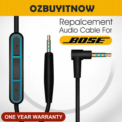 Cable Remote Mic For Bose QuietComfort 25 35 QC25 QC35 Headphone Android Samsung