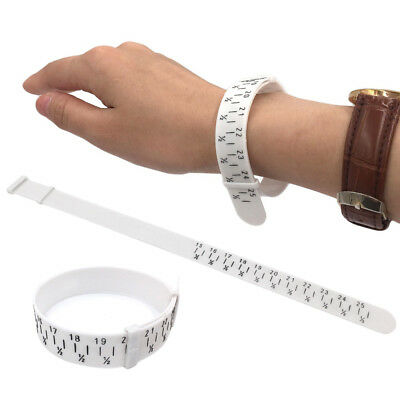 Bracelet Sizer Plastic Wristband Measuring Tool Bangle Jewelry Measuring Circle