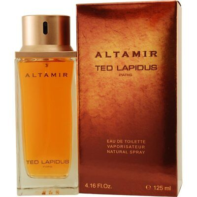 ALTAMIR 125ml EDT Spray For Men By TED LAPIDUS ( Tester )