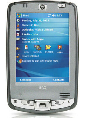 HP iPAQ hx2410 PDA with BRAND NEW BATTERY. Includes accessories