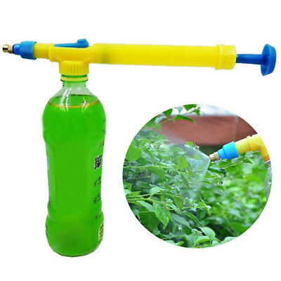 KD_ HK- Interface Juice Water Mini Sprayer Head Hand Push Gun Pressure Bottles