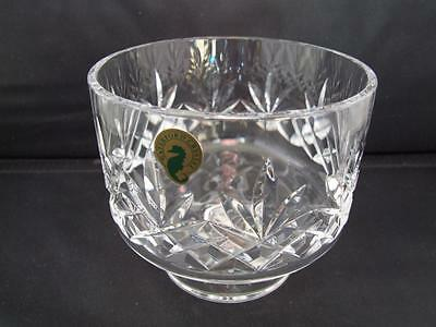 Waterford Lead Crystal 5 inch Footed Bowl Made in Ireland.