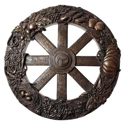 Wheel of the Year Plaque - Pagan Calendar - Wicca