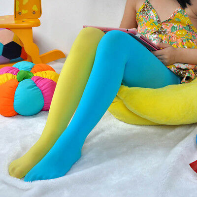 Stitch Pants Children's Clothing Tights Candy Color Socks Pantyhose For Kids