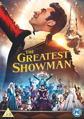 The Greatest Showman (DVD) Hugh Jackman, Rebecca Ferguson, Michelle Williams