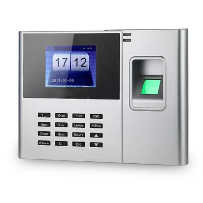Biometric Fingerprint Attendance Machine Time Clocking In Clock+TCP/IP Office UK