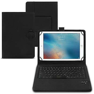 Tastatur Hülle Bluetooth Keyboard Tasche Apple iPad 9.7 2017 2018 Case QWERTZ