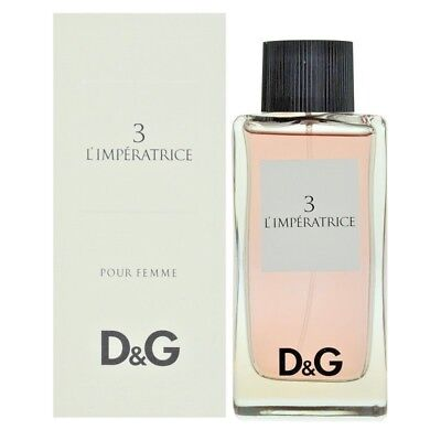 D&g Dolce E Gabbana L'imperatrice 3 Edt Vapo Natural Spray Donna 100Ml Sigillato