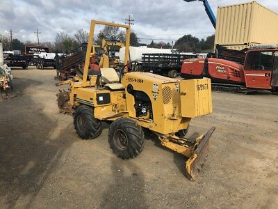 1996 Vermeer V3550 Trencher-1301 Hrs-New Tires-Fresh Service-Work Ready!