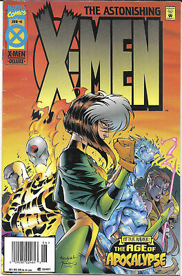 1995 The Astonishing X-Men #4 The Age Of Apocalypse Marvel Comics